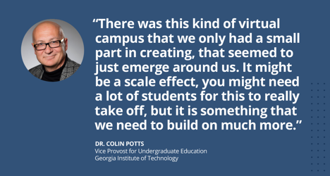 Dr. Colin Potts, Georgia Institute of Technology