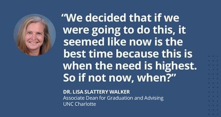 Dr. Lisa Slattery Walker UNC Charlotte