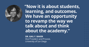 Dr. Gail F. Baker University of San Diego