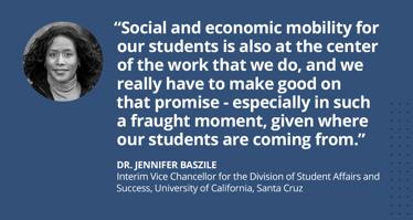 Dr. Jennifer Baszile UC Santa Cruz