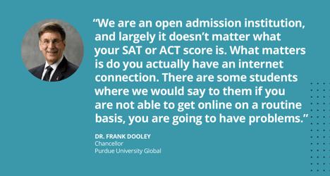 Dr. Frank Dooley, Purdue University Global