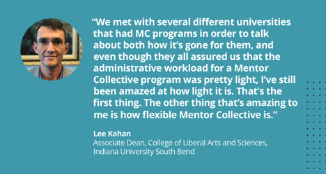 Lee Kahan IUSB Mentor Collective